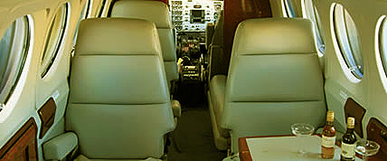 Private Jets Charter King Air 200 Turbo Prop Chrater